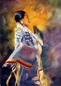 Native-American-Series-Sunset2-213x300 by laurie goldstein-warren