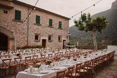 A Romantic Wedding at Finca Son Berga in Mallorca, Spain Wedding Locations, Wedding Venues, Wedding Photos, Romantic Weddings, Destination Weddings, Italian Weddings, Belleza Natural, Mediterranean Style, Wedding Table