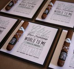 Be the best ‪#‎groomsman‬ ever with this easy step-by-step guide! And unique groomsman gift ideas for the groom! Photo via Creative With a K via Etsy