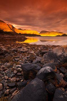Selje, Sogn og Fjordane one early morning.