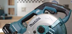 A saw that's portable, powerful and performs like a corded tool. Is the the best in class? Makita Power Tools, Compound Mitre Saw, Miter Saw, Home Renovation, Engineering, Workshop, Home Appliances, Good Things, House Appliances