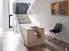 An stylish alternative to the standard stairgate.