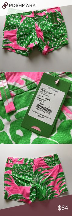 NWT Lilly Pulitzer Flamenco Callahan Shorts Gear up for the summer with these shorts! They are new with tags and have never been worn. Reasonable offers considered. (I also have another pair of LP shorts in a size 2! If bundled it would be 15% off) Lilly Pulitzer Shorts