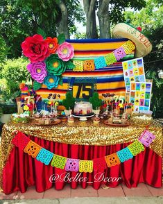 A fiesta party from Saturday set ups! A fiesta party from Saturday set ups! Mexican Theme Baby Shower, Mexican Fiesta Birthday Party, Fiesta Theme Party, 18th Birthday Party, 75th Birthday, Mexico Party Theme, 75 Birthday Party Ideas, Party Themes, 21 Party