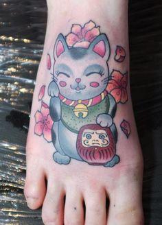 """Maneki Neko """"Beckoning Cat"""""""