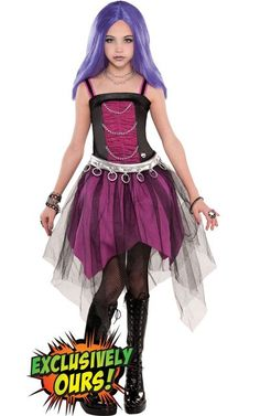 Girls Monster High Spectra Vondergeist Costume - Party City