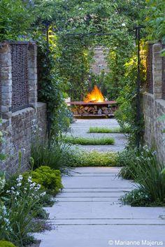 Large Garden in Barnes Charlotte Rowe Garden Design Diy Garden, Garden Cottage, Dream Garden, Garden Path, Potager Garden, Shade Garden, Urban Garden Design, Garden Design Plans, Small Gardens