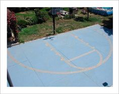 Basketball Court Easy