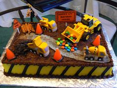 Birthday - Kids Boy - Construction Cakes | Cake Gallery | Cakes Knoxville TN | Knoxville Cakes | Cakes Knoxville | Daisy Cake Company
