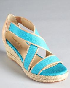 Krissy Espadrille Wedges  I am in  love.