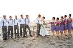 grey and lavender wedding party colours - Google Search