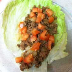 OMNI Phase 2 soft tacos! 100g of 97/3 beef makes 2 tacos!!!  ** seasoned with chili powder, cumin, s&p, add onions and tomatoes, then wrap in a lettuce leaf! Deeeeelish!!  #omnitrition #omnidrops