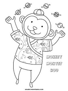 95 Best Mewarnai Images On Pinterest Coloring Pages New Year
