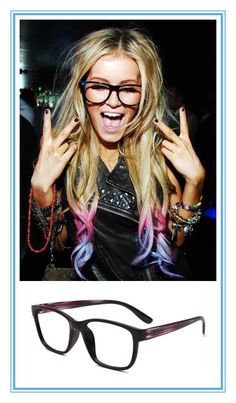"""Who knew? """"Geek chic"""" glasses equals rock-n-roll style"""
