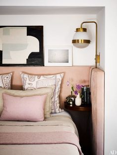 Dramatic Look to Try: Oversized Headboards In the Bedroom | Apartment Therapy