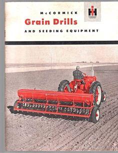 IH McCORMICK Grain Drills Ad