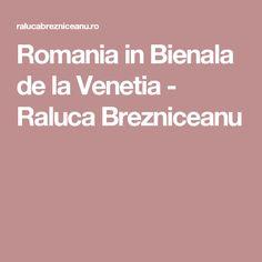 Romania in Bienala de la Venetia - Raluca Brezniceanu Pavilion, Romania, Sheds, Cabana