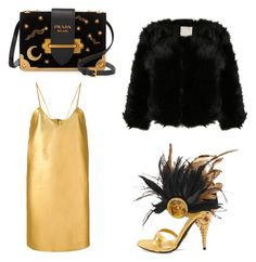 """""""Untitled #3"""" by raluca-daniela-i on Polyvore featuring Manokhi and Prada"""