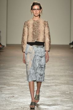 Kate Goodling Opened Gabriele Colangelo SS14