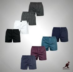 05171766baf94d 4 Pack Mens Branded Kangol Casual Woven Boxer Shorts Underwear #fashion # clothing #shoes #accessories #mensclothing #underwear #ad (ebay link)