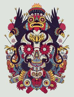 This is Best Graphic Design and Illustration in the world, made by the artist duo Raul Urias and mostasho. they are well-known artists with the illustrations and their work as well has an award in any art illustrations Graphic Design Illustration, Graphic Art, Illustration Art, Psychedelic Art, Graffiti, Art Graphique, Mexican Art, Skull Art, Art Direction