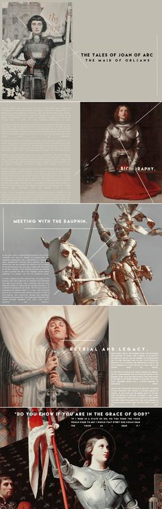 """""""i did not take it by the advice of any man in the world."""" the tales of joan of arc"""