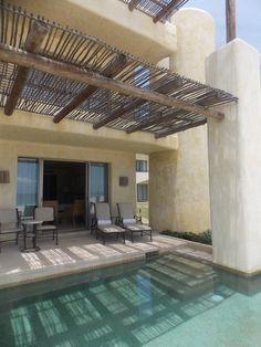 Private Suites with semi private pool plus oceanfront