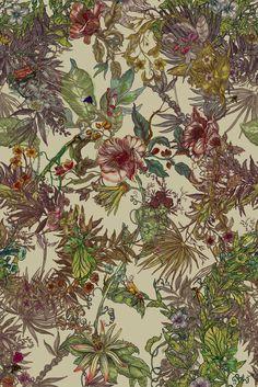 Timorous Beasties // Opera Botanica fabric