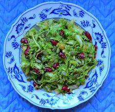 Broccoli-bean_pumkinseedsalad http://www.lanimuelrath.com/recipes/broccoli-bean-pumpkin-seed-salad/#