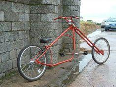Bike - red chopper