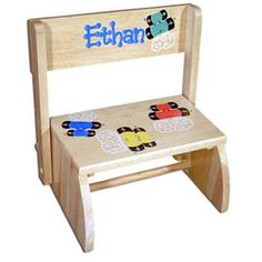 Personalized step stool personalized baby gifts pinterest personalized step stool see more unique personalized baby gifts babywonderland negle Choice Image