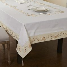 Aliexpress.com : Buy 50%OFF Big size Poly cotton Hemstitched  Embroidery table cloths  72X108 from Reliable tablecloth suppliers on HOME LINEN   embroidery  $49.99