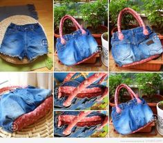 Bag Using Old Jeans