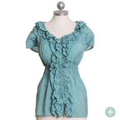 I really like this shirt... but I don't think I look that great in empire waist clothing. I hate the flowy bottom part.