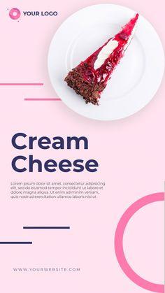 Instagram Story Template, Instagram Templates, Simple Business Cards, Social Media Template, Creative Words, Bakery, Instagram Mockup, Insta Story, Slogan