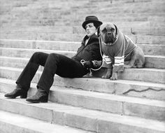 ROCKY / Sylvester Stallone...Rocky trivia: this was Stallone dog in real life, they used him for the movie.