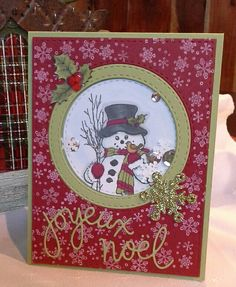 Stampendous! Country Snowman (M318)