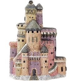 Magic is real --- Judith Leiber Couture Castle Crystal Clutch Bag, Multi Beaded Clutch, Beaded Purses, Beaded Bags, Unique Handbags, Unique Purses, Unique Bags, Small Handbags, Judith Leiber, Shoes