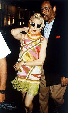 Vintage Emilio Pucci Cork Wedge Sandals by lockeanddaughters Patti Hansen, Madonna Photos, Madonna 80s, Lauren Hutton, Elsa Schiaparelli, Lanvin, Divas, Christian Dior, Madonna Fashion