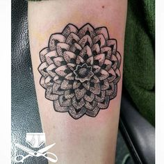 She said she collects pine cones. So she got the bottom of one put on her. Very mandala-ish. Display your passion. Very different approach for me. #dotwork #linework #pinecones #nature #mandala #mandalatattoo #blackwork #armtattoo #girlswithtattoos #illustration #empiretattooinc #bostonbasedartist #tattoo #bostontattoo www.empiretattooinc.com