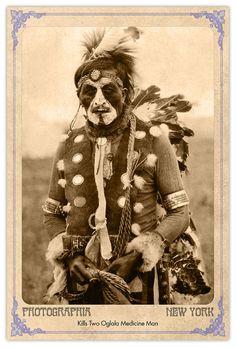 Oglala Sioux Medicine Man