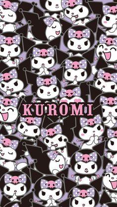 Kuromi Sanrio Wallpaper, Hello Kitty Iphone Wallpaper, Goth Wallpaper, Kawaii Wallpaper, Cute Wallpaper Backgrounds, Wallpaper Iphone Cute, Aesthetic Iphone Wallpaper, Cute Wallpapers, Hello Kitty Backgrounds