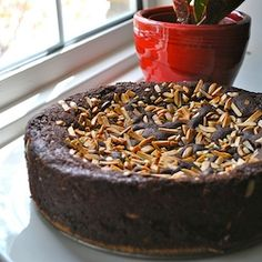 chocolate armenian nutmeg cake