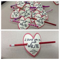 Student valentine from teacher