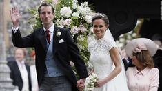 Britain's Wedding of the Year. Pippa Middleton married James Matthews, at St Mark's Church in Englefield, England on Saturday, May 20, 2017. .