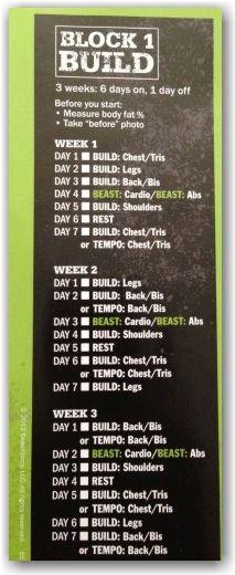 body beast build phase
