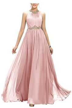 2017 New Arrival Scoop Prom Dresses Chiffon Ruched Bodice A Line ed91d993c4
