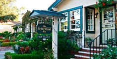 Briarwood Inn Bed & Breakfast in Carmel-by-the-Sea, California     ~  This is where Mike & I are going this weekend! Yay!!!