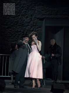 Mila Jovovich, September issue of Vogue Italia