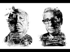 German illustrators Julian Rentzsch and Stellavie Design Manufaktur have collaborated to pay tribute to three famous directors Martin Scorsese, David Lynch and Famous Movie Directors, Famous Movies, Martin Scorsese, David Lynch, Alfred Hitchcock, John Wayne Western Movies, Film Poster Design, A Discovery Of Witches, Alternative Movie Posters
